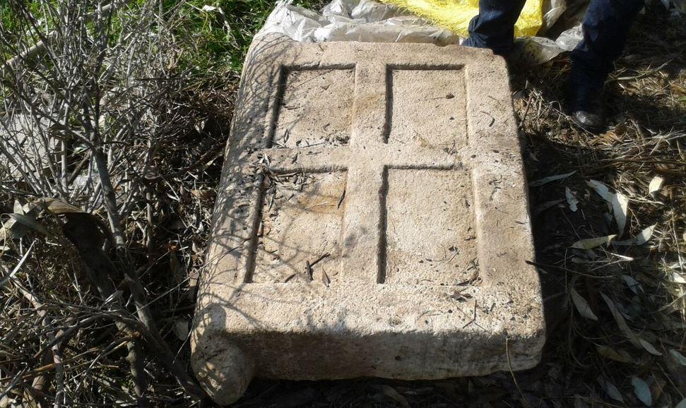 جزئیات درب سنگی کشف شده در کلچندار ایذه/تصاویر