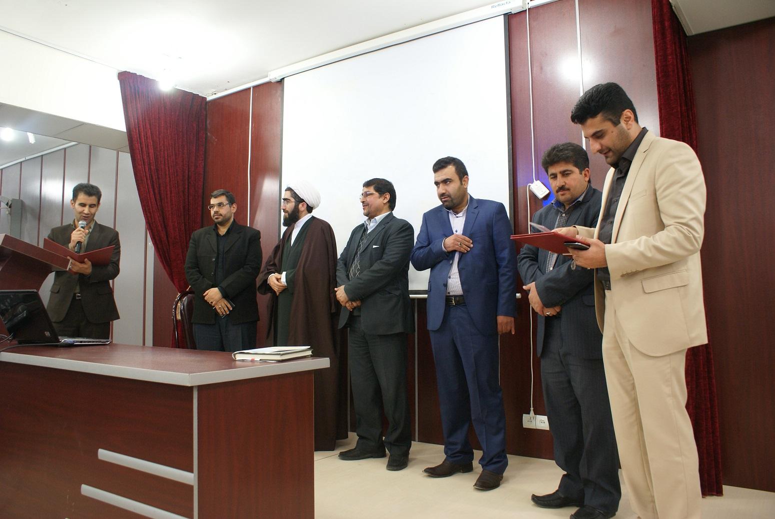 مراسم تودیع و معارفه ریاست دانشگاه پیام نور ایذه + تصاویر