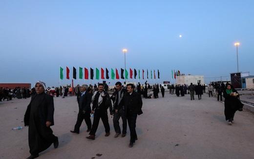 تصاویر/ وضعیت پایانه مرزی چذابه در آستانه اربعین حسینی