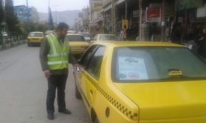 طرح شناسنامه دار شدن تاکسی های درون شهری