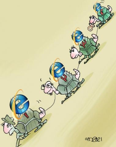 همه نسلهای اینترنت در ایران!