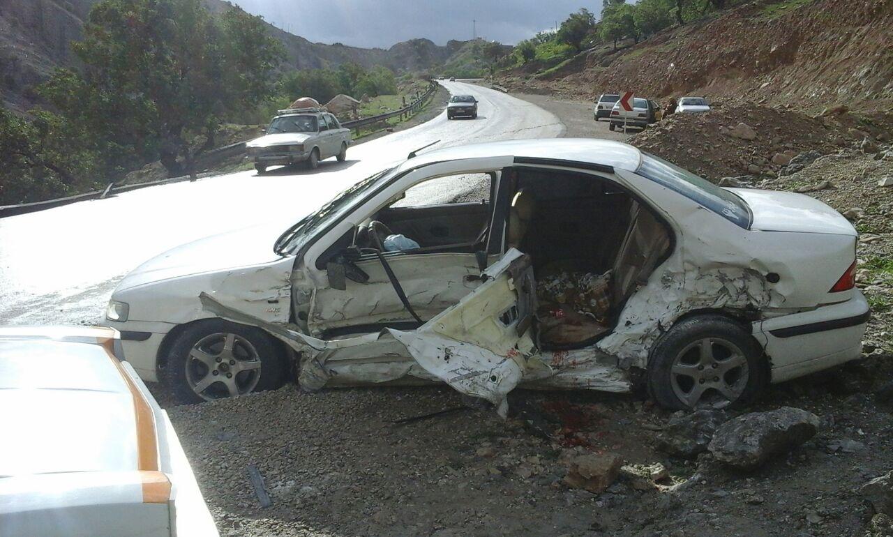 ۵کشته و زخمی بر اثر سانحه رانندگی امروز در محور ایذه دهدز