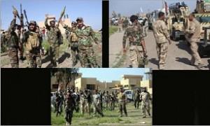 بالصور.. قوات عراقیه تنتظر ساعه الصفر لاقتحام تکریت