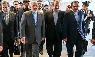 عزیمت تیم مذاکرهکننده ایران به فرودگاه ژنو برای بازگشت به تهران