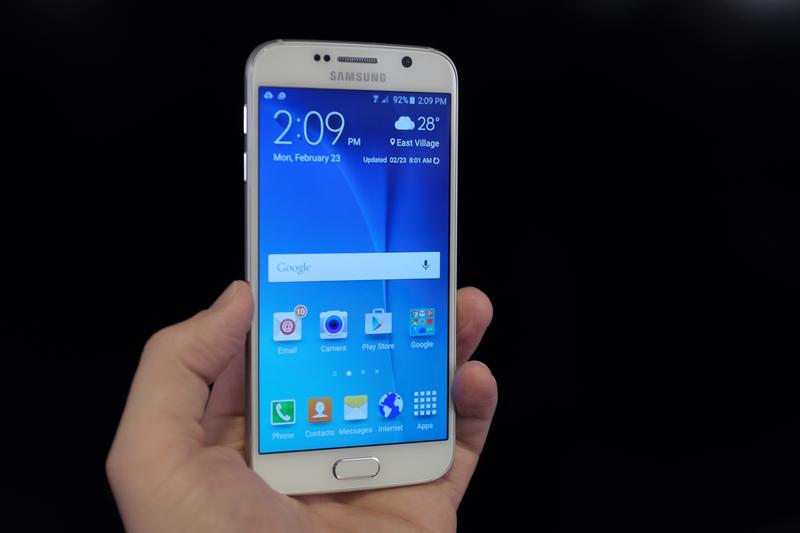 Galaxy S6 بالاخره رونماییشد +عکس