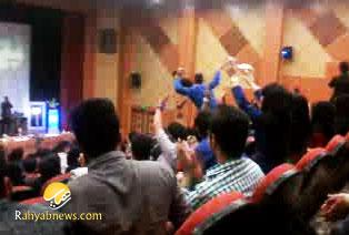 رقص و پایکوبی در ایام فاطمیه در دانشگاه چمران اهواز+فیلم