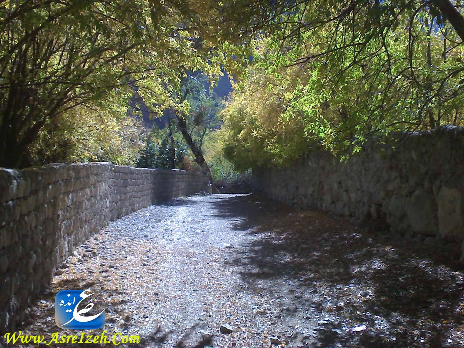 تصاویری زیبا از روستای شیوند
