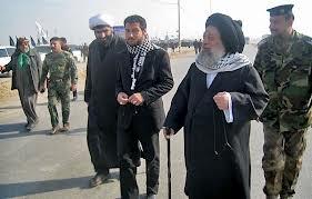 آیت الله جزایری به صف مبارزه با داعش می پیوندد