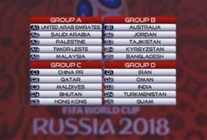 حریفان ایران برای جام جهانی ۲۰۱۸ روسیه مشخص شدند