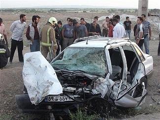 ۱۱ مصدوم و دو کشته نتیجه برخی تصادفات دو روز گذشته خوزستان