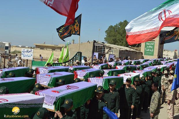 پیکرهای مطهر۶۳شهید دفاع مقدس وارد کشور شدند+عکس