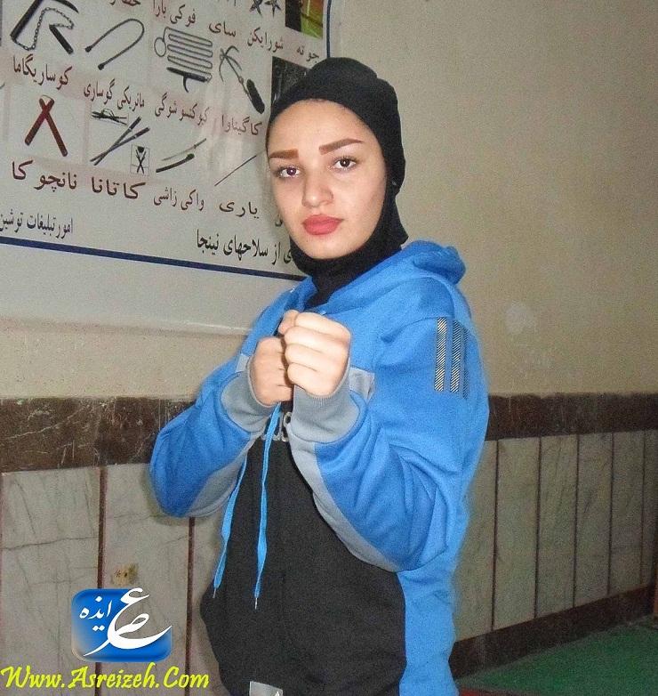 گفتگو با بانوی کاراته کار ایذه ای/دعوت شده به تیم ملی کاراته