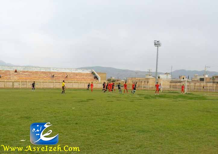 تساوی جنوب و شاهین در دومین بازی لیگ فوتبال ایذه+تصاویر و حواشی