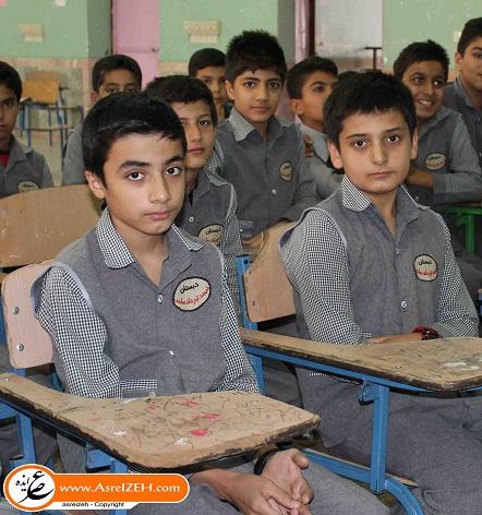 دو نخبه نوجوان ایذهای نفر دوم و سوم المپیاد ریاضی کشور