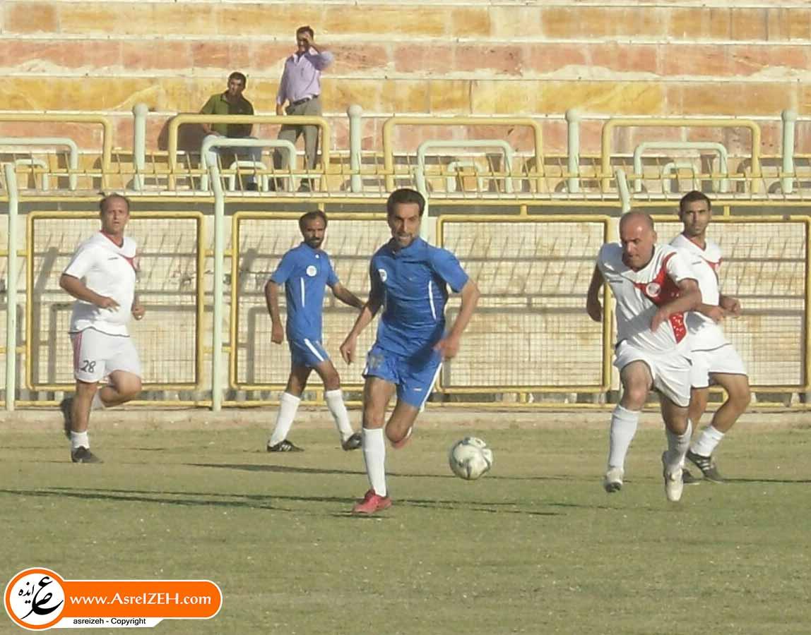 زور پیشکسوتهای فوتبال ایذه به پیشکسوتهای فوتبال خوزستان نرسید