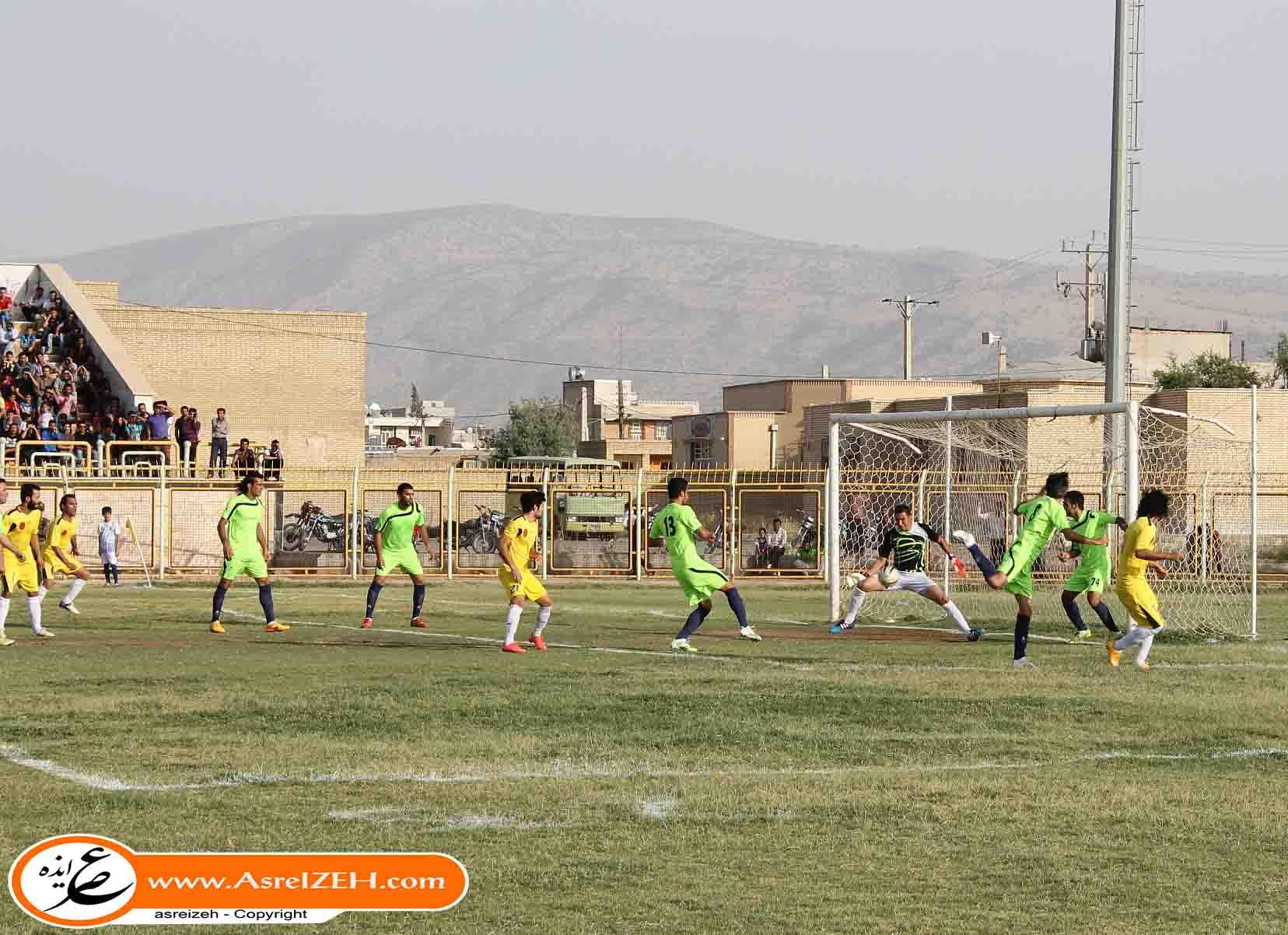 برد تیم منتخب لیگ برتریهای خوزستان برابر منتخب میلاد ایذه+گزارش کامل