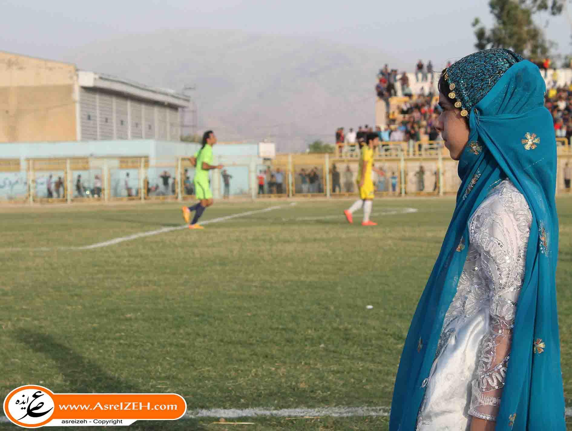 گزارش تصویری مسابقه دوستانه منتخب لیگ برتریهای خوزستان برابر منتخب میلاد ایذه