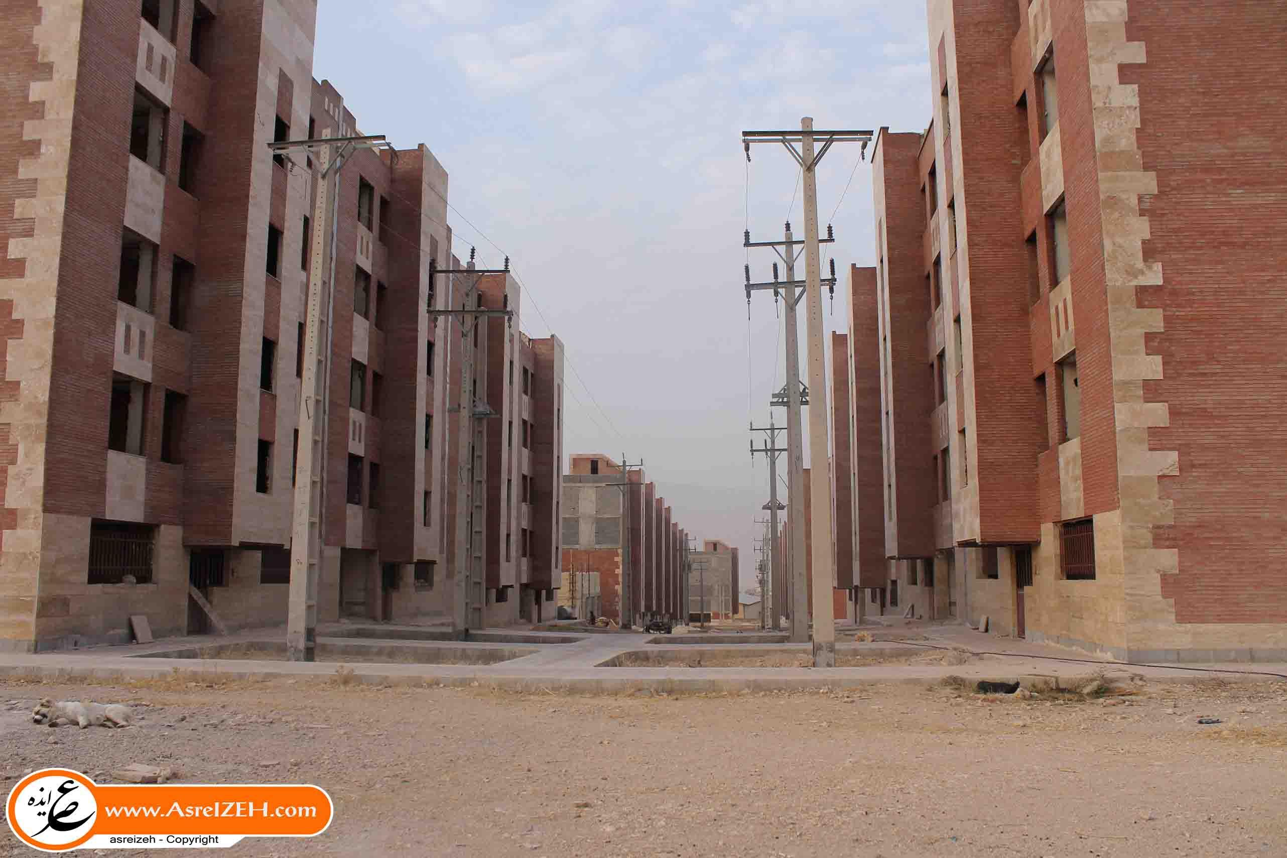 گزارش تصویری وضع اسفبار مسکن مهر نورآباد ایذه