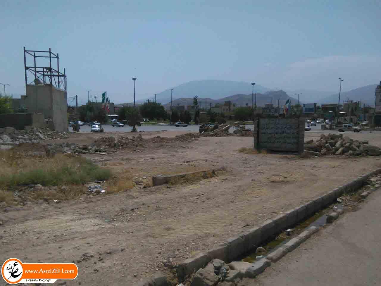 خیابانهای ایذه در محاصره زمینهای خالی و بناهای مخروبه+ تصاویر