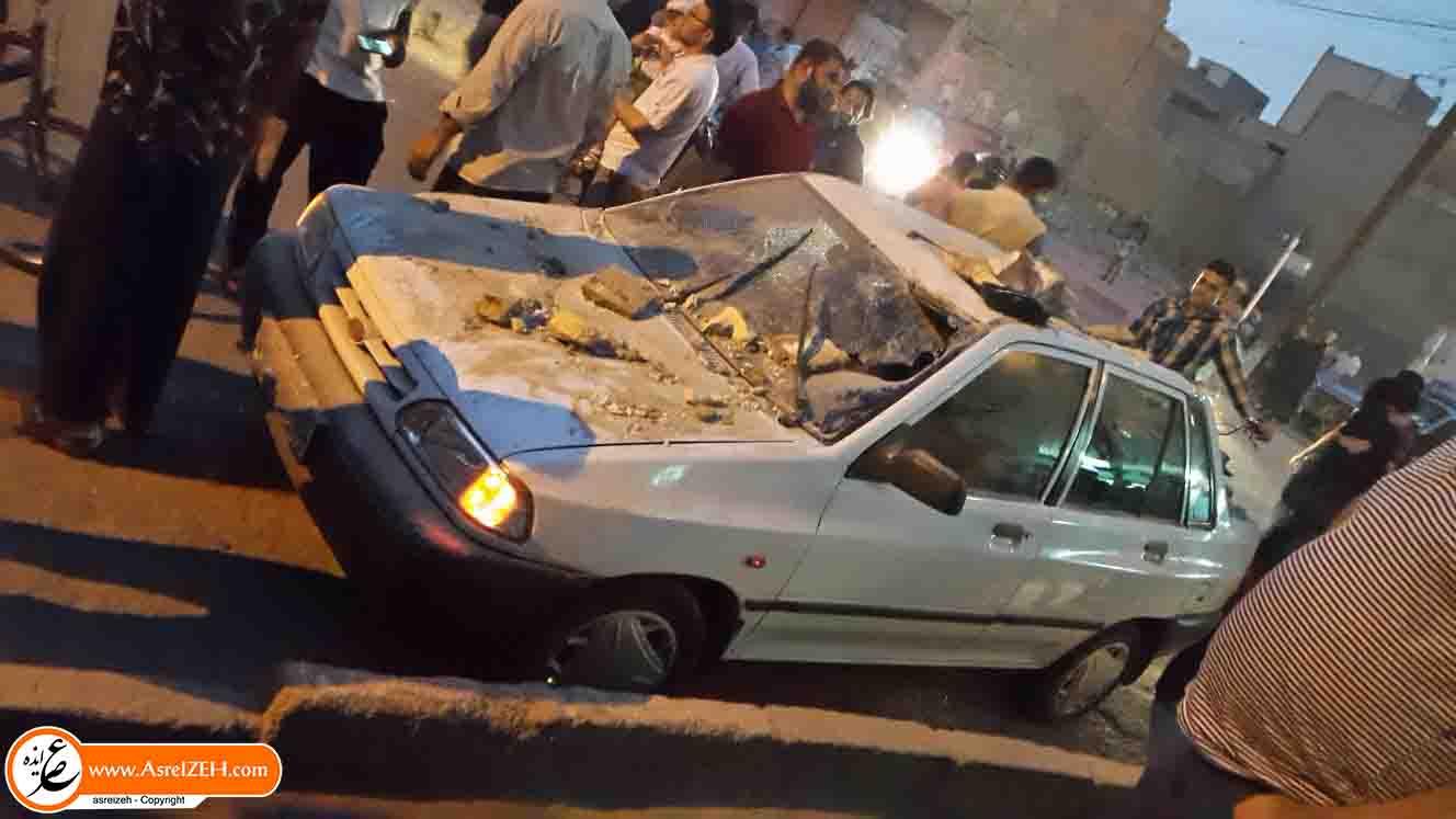 انفجاری مهیب احمد آباد آبادان را لرزاند+ عکس
