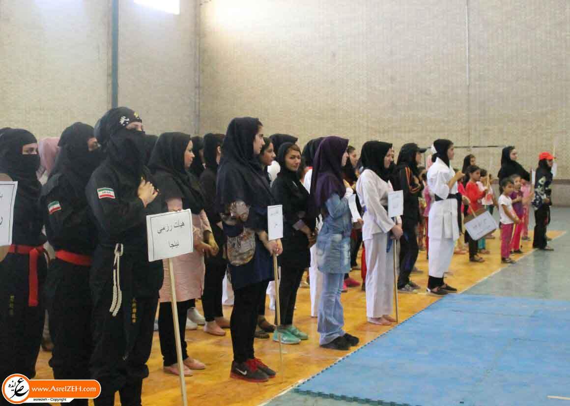اولین جشنواره بانوان ورزشکار شهرستان ایذه برگزار شد+ تصاویر