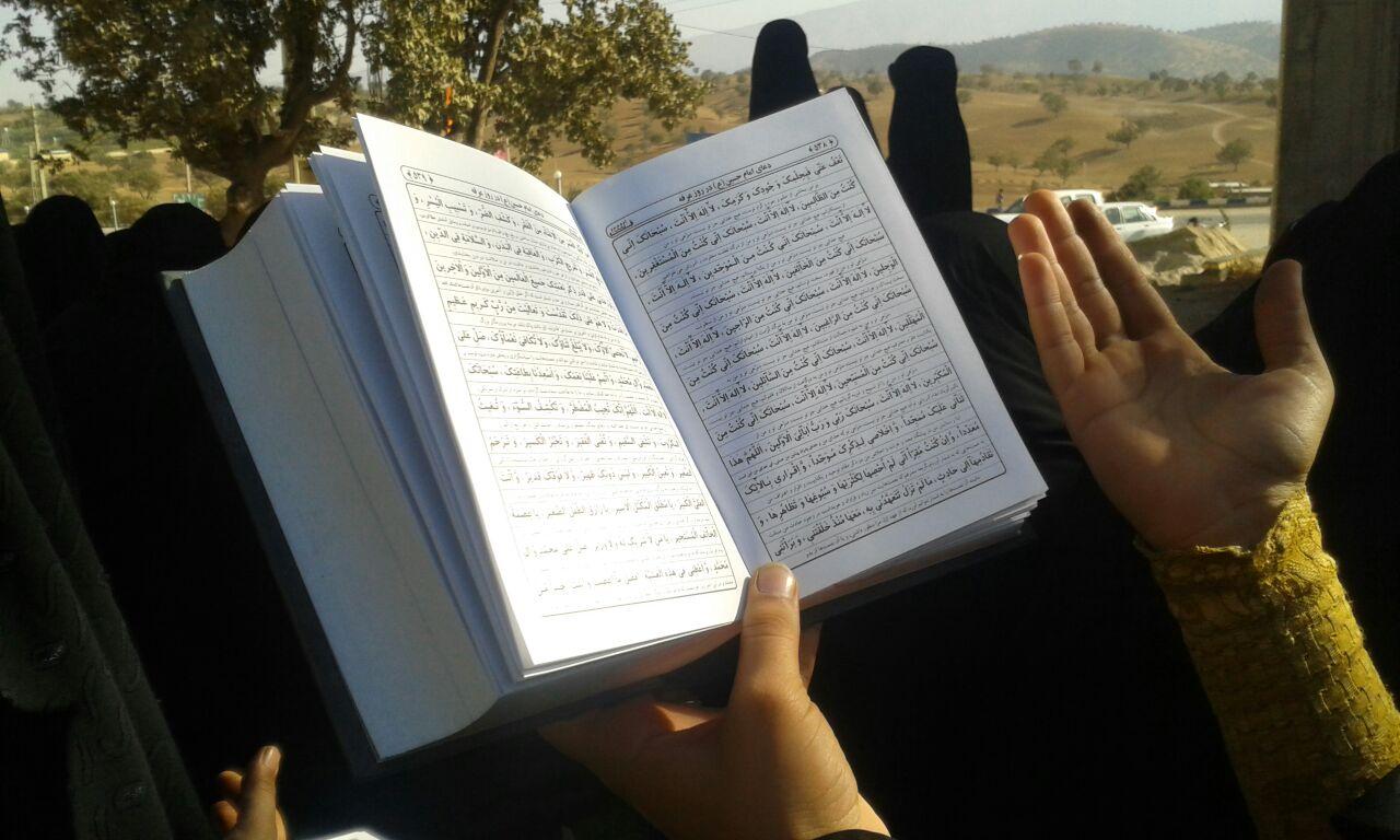عکس/ مراسم دعای عرفه در جوار شهدای گمنام دهدز
