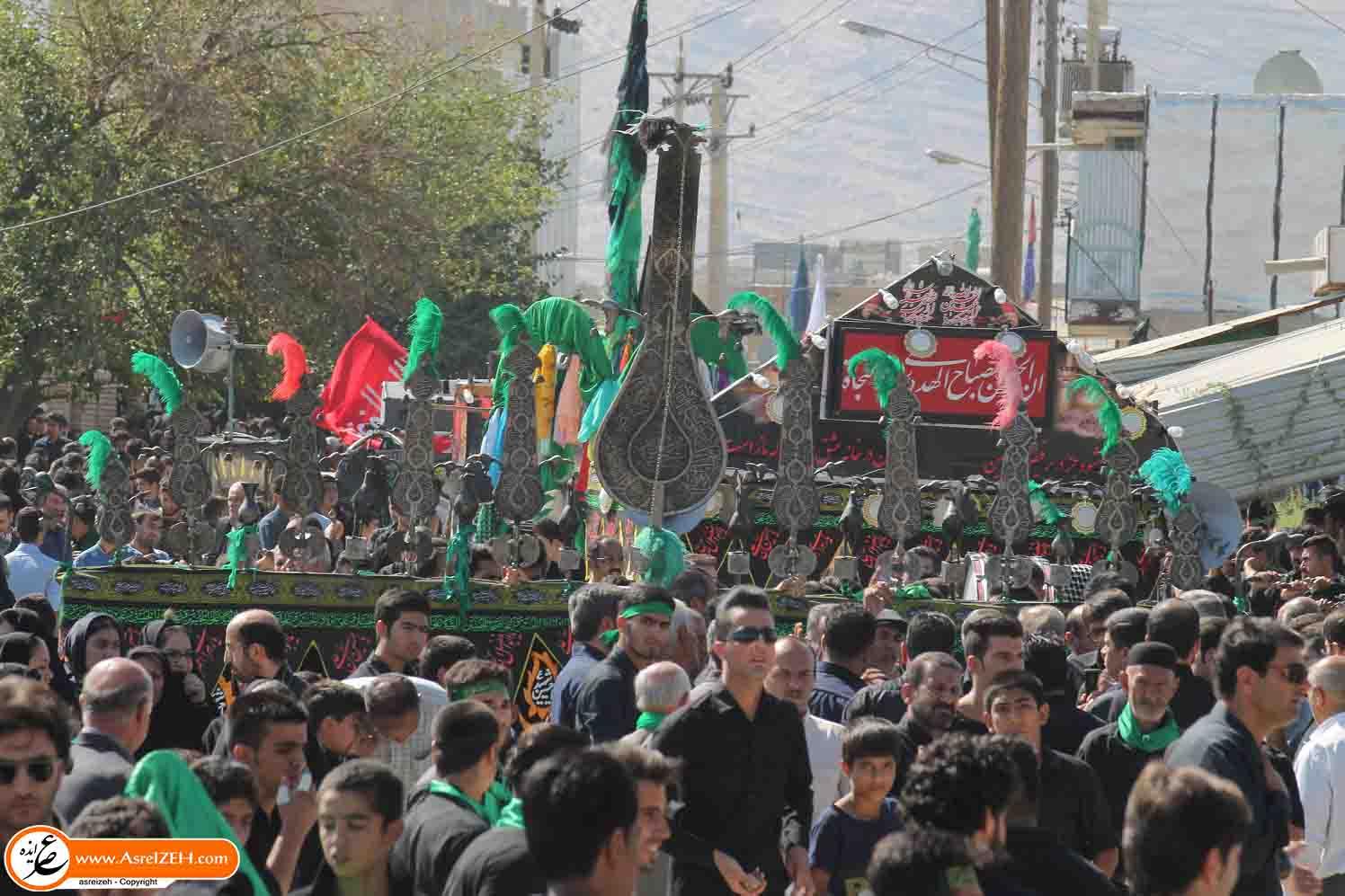 عاشورای حسینی در ایذه به روایت تصویر