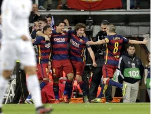 پیروزی درخشان بارسلونا در خانه رئال