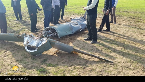 آخرین جزئیات از سقوط یک پهپاد نظامی در حوالی شوش+عکس