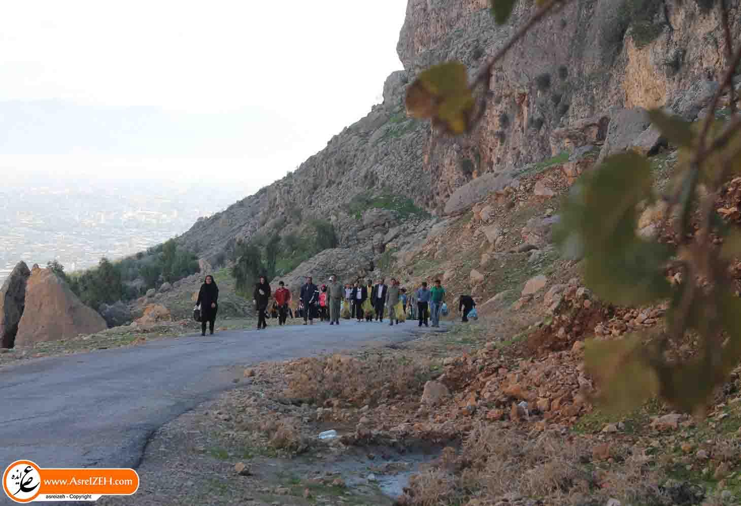 گزارش تصویری/ همایش کوهپیمایی عمومی در منطقه الهک ایذه