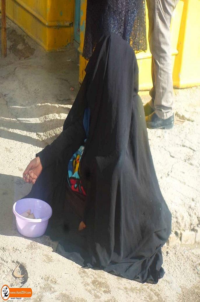 گزارش تصویری/ ایذه در تسخیر متکدیان