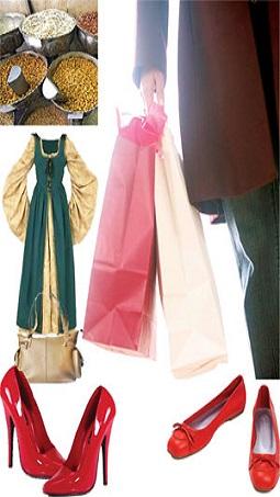 عروسک های پشت ویترین، روسری گل اناری، کفش های پاشنه بلند !