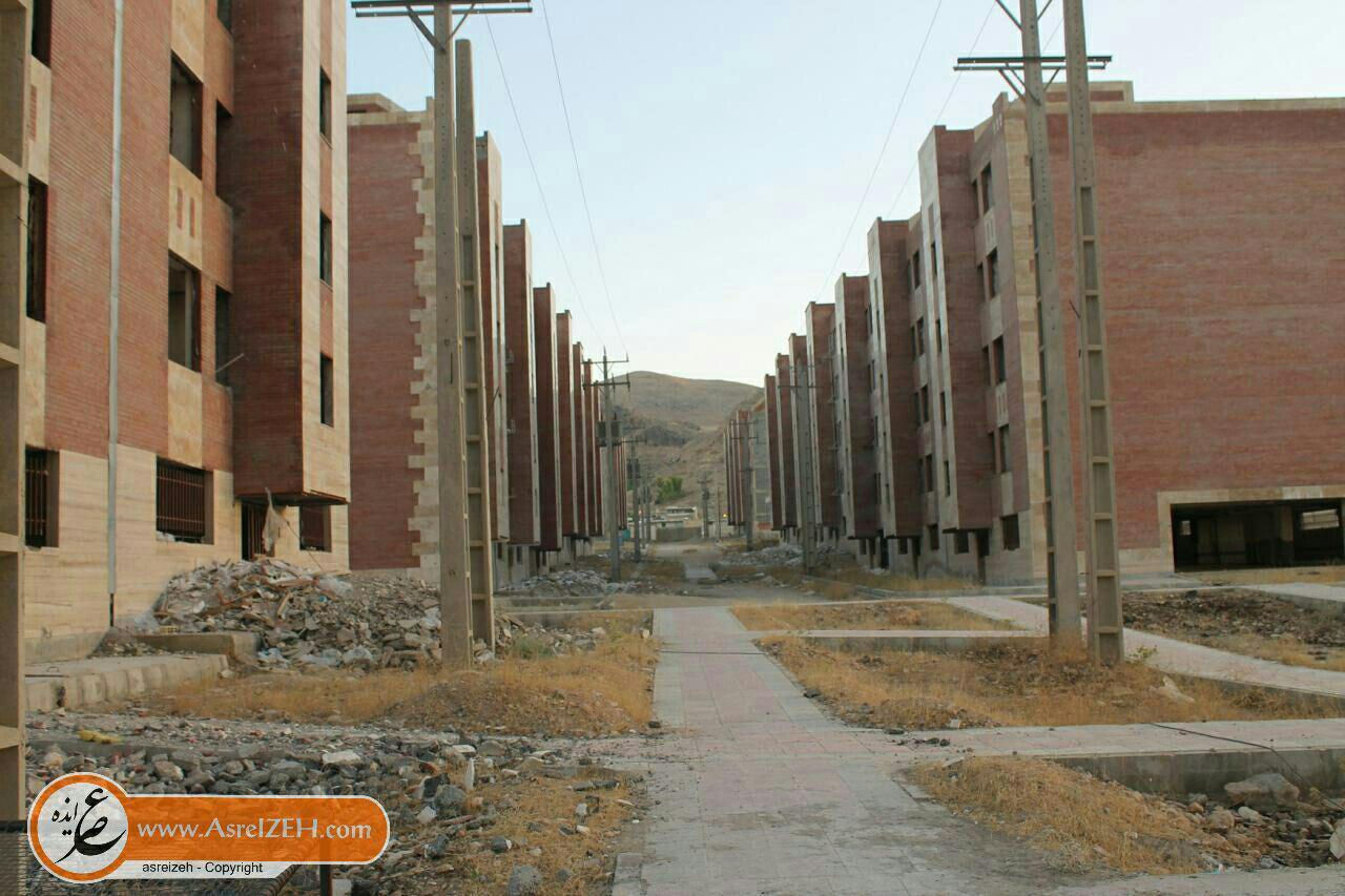 مسکن مهر نورآباد ایذه آباد نشد/ وقتی مالکین جهت تکمیل واحدها دست به کار میشوند