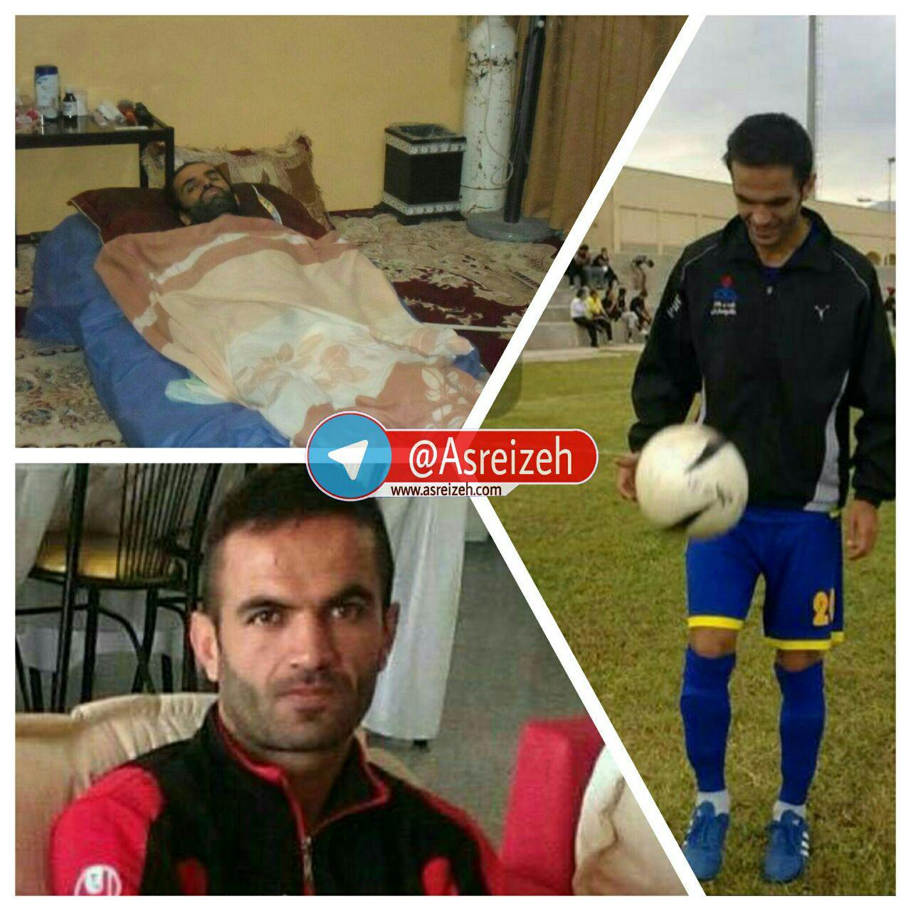 حادثهای تلخ  فوتبالیست جوان ایذهای را از پا انداخت/ امیدواری حسین به بهبودی در کنار حمایت مسئولین