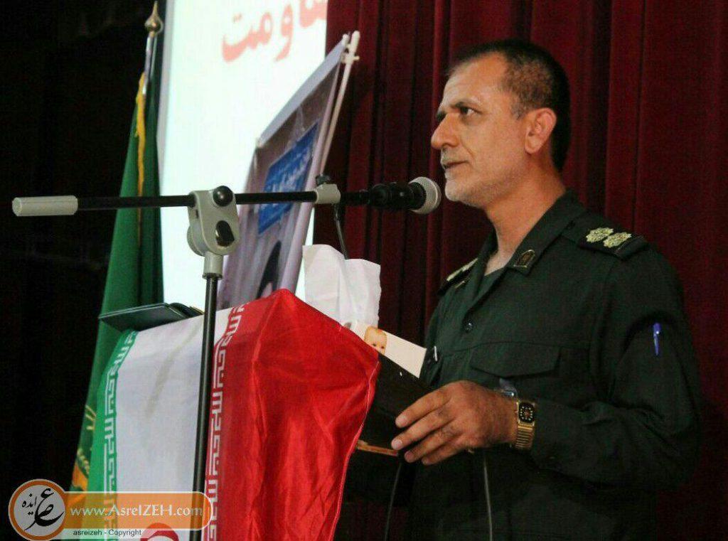 فرمانده سپاه ایذه اهم برنامههای هفته دفاع مقدس در شهرستان ایذه را تشریح کرد