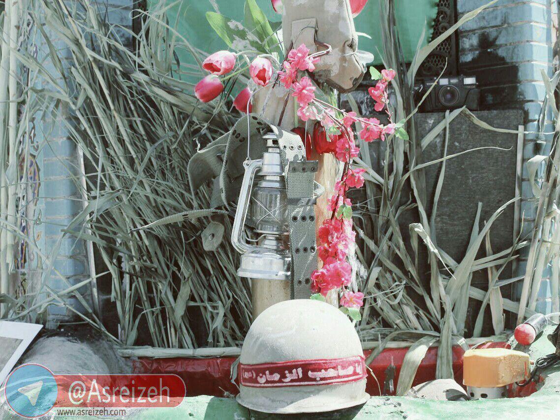 گزارش تصویری/ افتتاح نمایشگاه ماکت دفاع مقدس در ایذه
