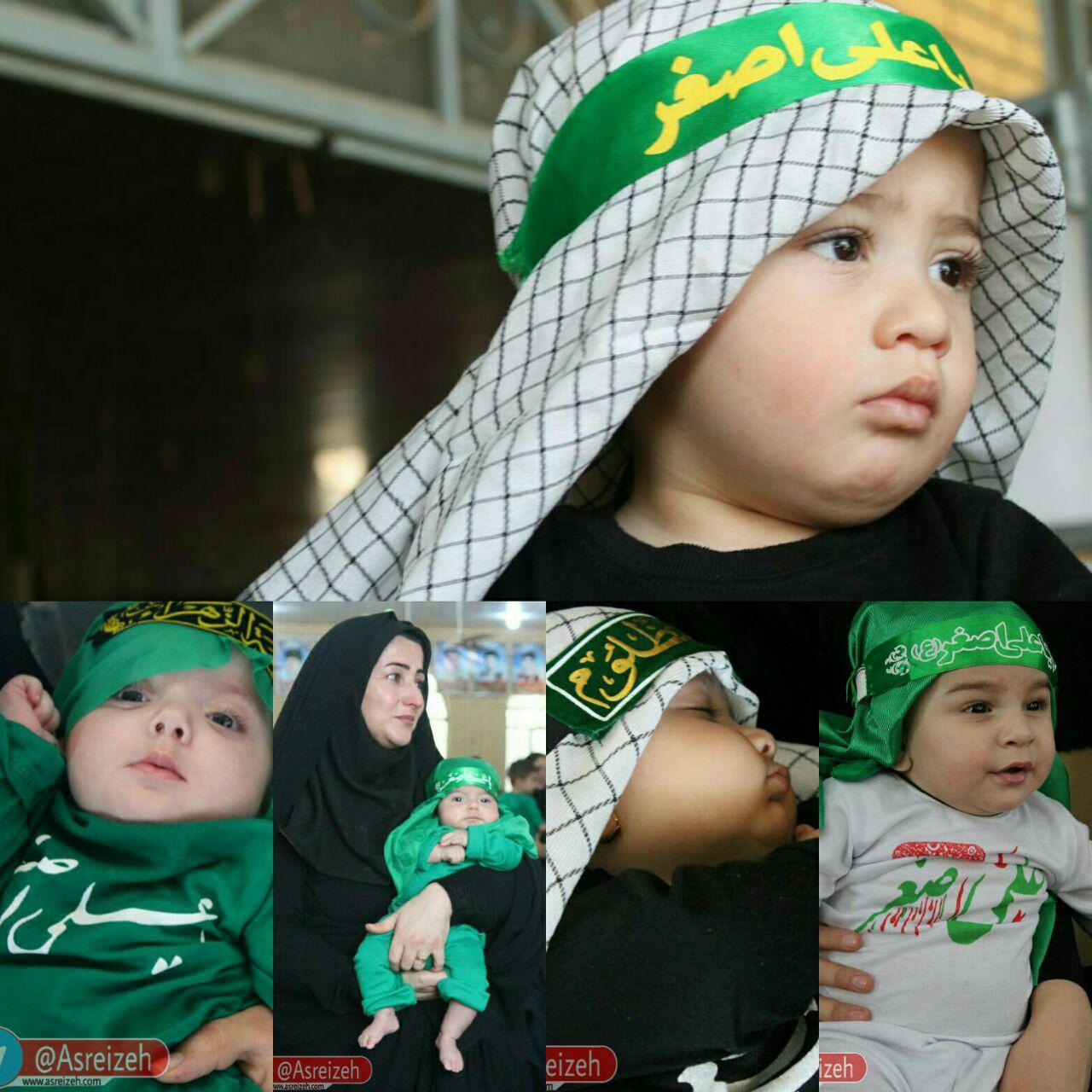 گزارش تصویری/ همایش شیرخوارگان حسینی در ایذه
