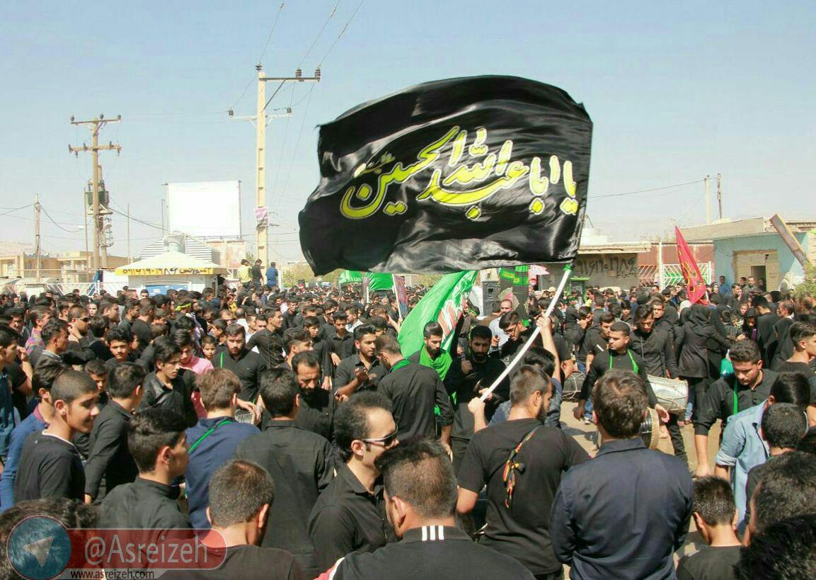 گزارش تصویری/ عزاداري تاسوعای حسيني در ایذه