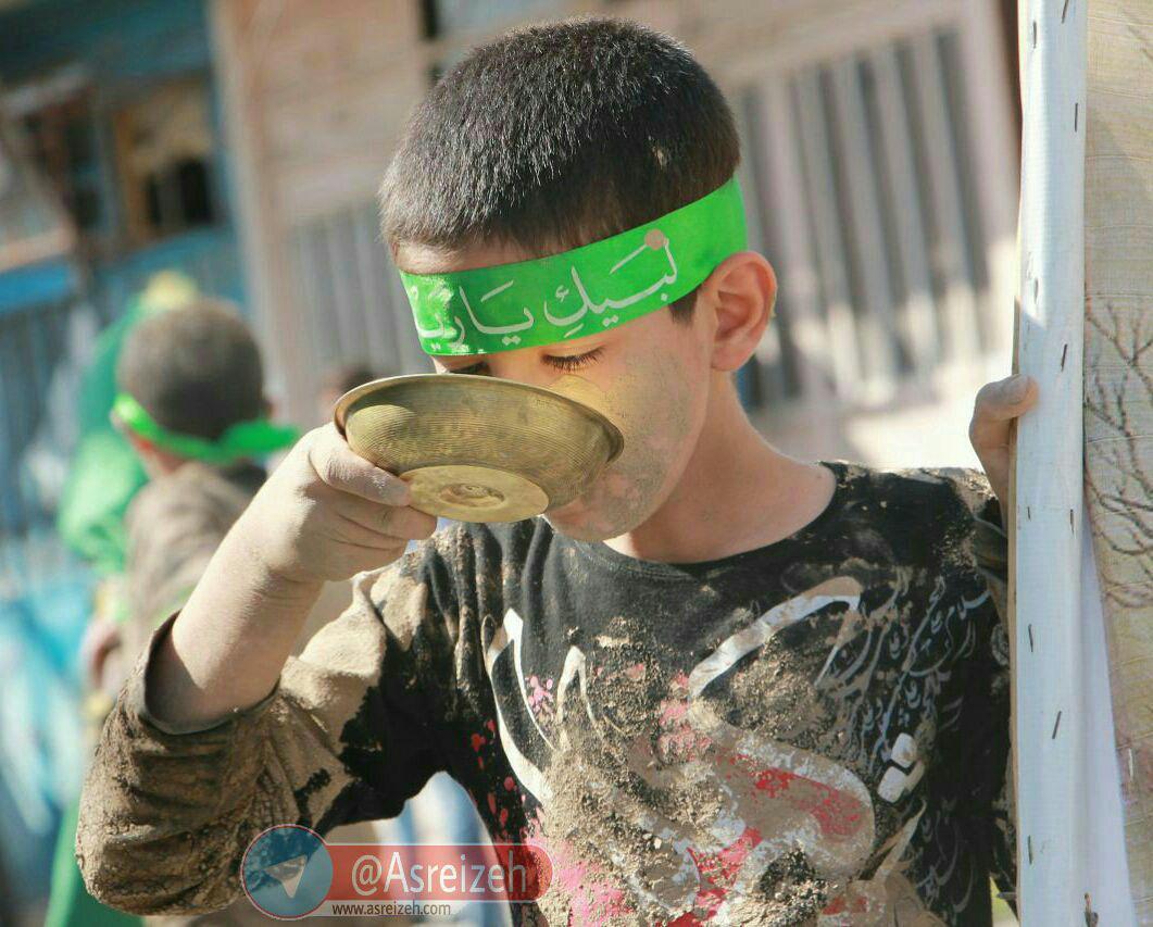 گزارش تصویری/ عزاداری باشکوه مردم ایذه در عاشورای حسینی