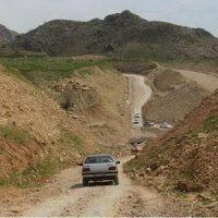 ساخت جاده در منطقه منگشت ایذه به نام زنبورداران به کام ویلاسازان
