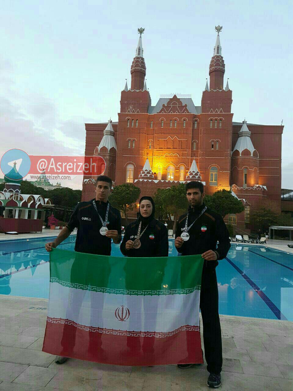 دو نقره و یک برنز حاصل تلاش رزمیکاران اُ اسپرت ایذه در مسابقات جهانی ترکیه