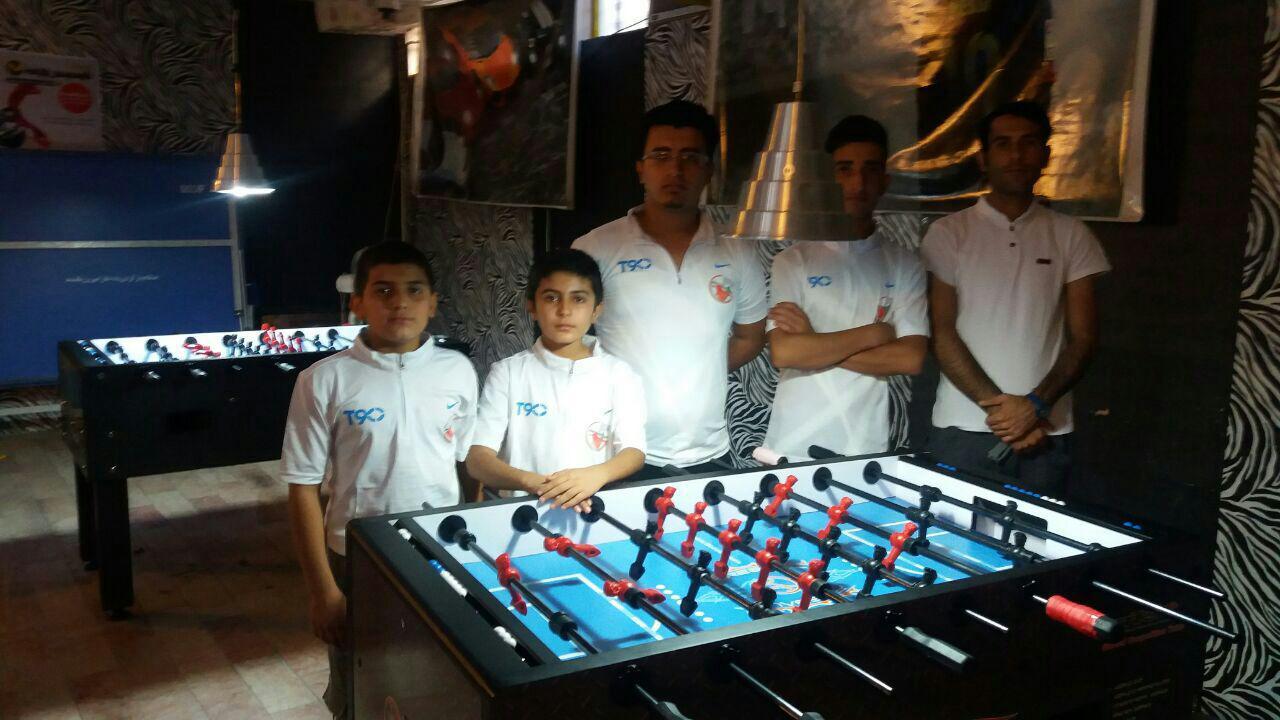 نوجوان ایذهای به ارودی تیم ملی فوتبالدستی راه یافت