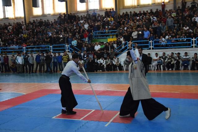 گزارش تصویری/ اولین دوره مسابقات چو بازی بختیاری در مسجدسلیمان