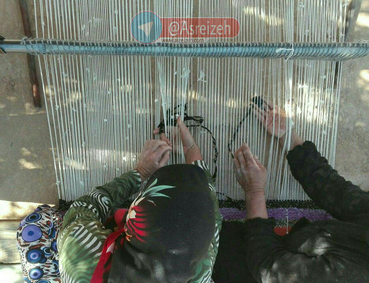 نیمقرن زیلوبافی در منطقه رمهچر ایذه