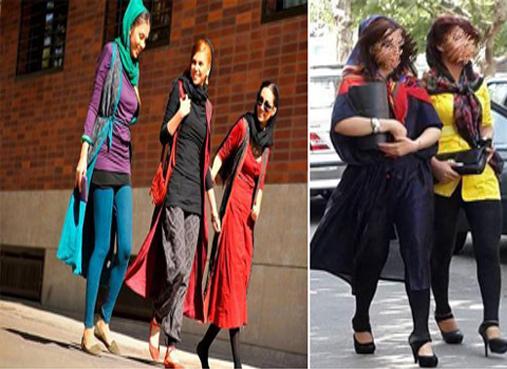 وضعیت حجاب این روزهای برخی از بانوان ایذه/ از فرهنگ بختیاری تا پوشش اروپایی
