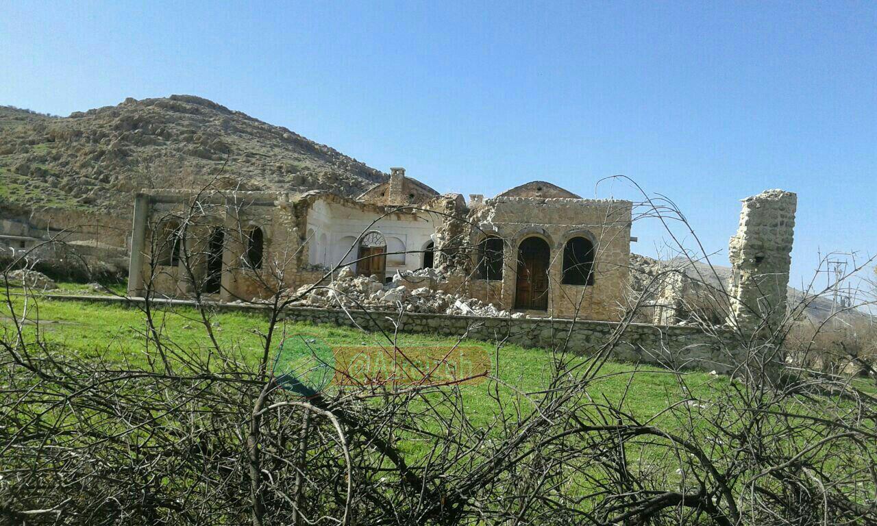 بخشی از اثر تاریخی کوشک نورآباد ایذه فروریخت