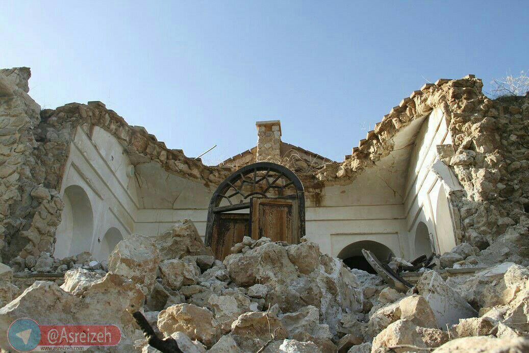 احتمال اختلاس چند صد میلیونی در مرمت عمارت کوشک نورآباد ایذه