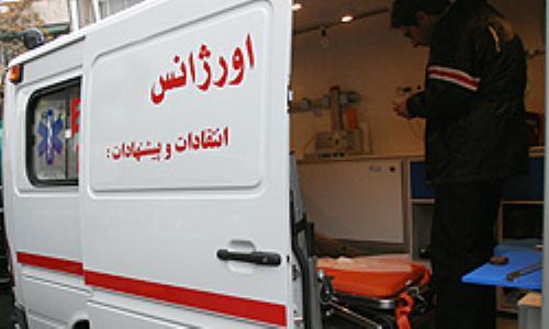 بدنیا آمدن نوزاد در آمبولانس اورژانس دهدز
