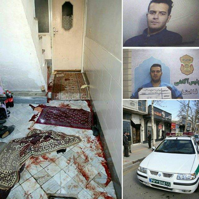 متهم ردیف دوم قتل ۶ شهروند اراکی به ایذه تبعید شد