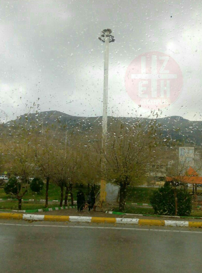 ثبت ۳۷میلیمتر بارندگی در دهدز/ شمال خوزستان امشب بارانی میشود
